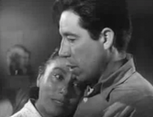 Rosaura Revueltas and Juan Chacon in Salt of the Earth