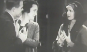 Robert Ames, Mary Astor and Ann Harding in Holiday.