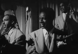 Nat King Cole and his trio perform in Breakfast In Hollywood.