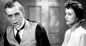 Boris Karloff and Margaret Lindsay in British Intelligence